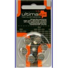 Hearing Aid Batteries U13A   Mercury Free